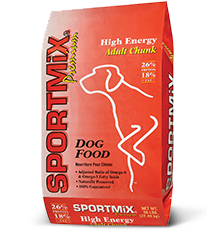 SPORTMiX® High Energy Adult Chunk Dog Food