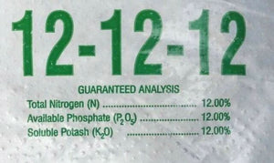 12-12-12 Fertilizer