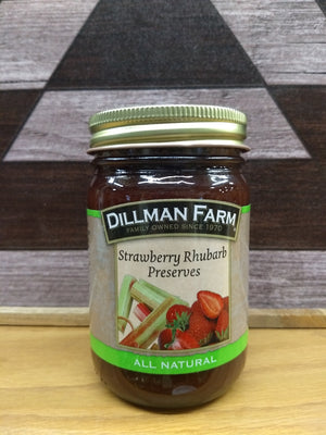 Dillman Farm Strawberry Rhubarb Preserves
