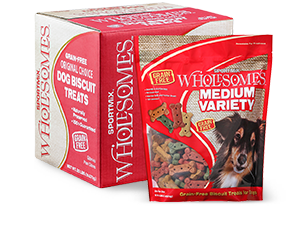 SPORTMiX® Wholesomes™ Medium Variety Dog Biscuit Treats