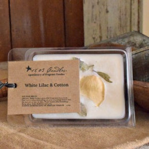1803 Candles® White Lilac & Cotton Soy Melters