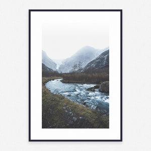 Mountain Poster #571 - Print Art - Exclusive Posters and Prints Online