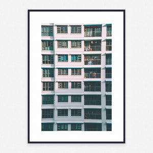 Building Poster #842 - Print Art - Exclusive Posters and Prints Online
