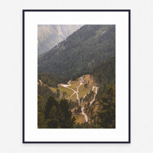 Mountain Poster #865 - Print Art - Exclusive Posters and Prints Online