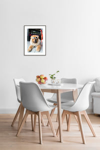 Sitting Poster #934 - Print Art - Exclusive Posters and Prints Online