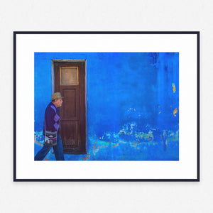 Blue Poster #2083 - Print Art - Exclusive Posters and Prints Online