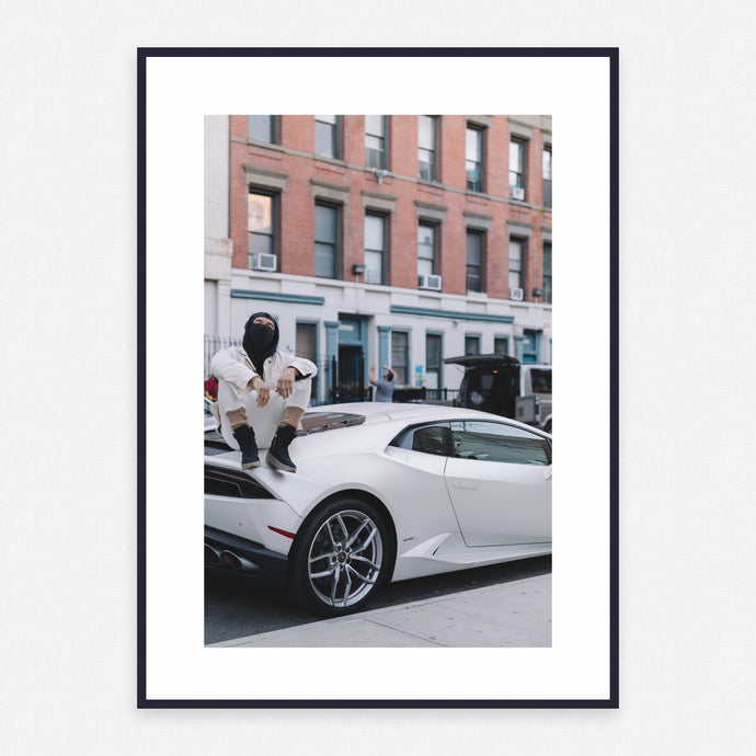 Car Poster #3843 - Print Art - Exclusive Posters and Prints Online