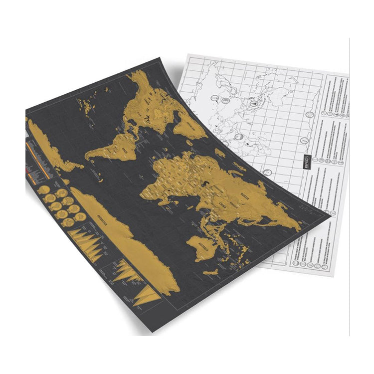 Scratch off world map must have for serious travelers fab doodads scratch off world map must have for serious travelers gumiabroncs Choice Image