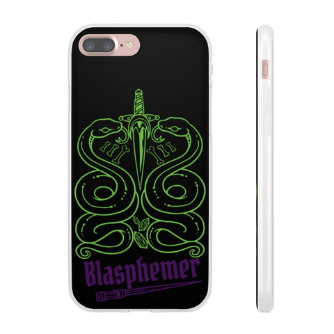 Blasphemer Snakes Flexi Phone Cases