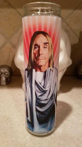 Iggy Pop Saint Candle