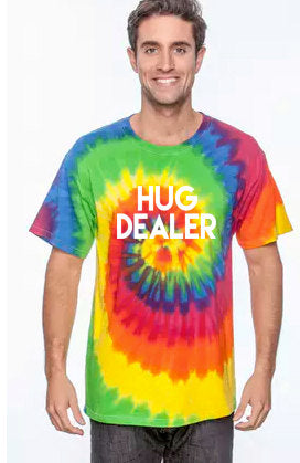 Hug Dealer Tie Dye T-Shirt