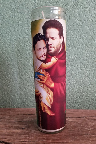 Seth Rogan and James Franco Saint Candle- Saints of Comedy and Bromance
