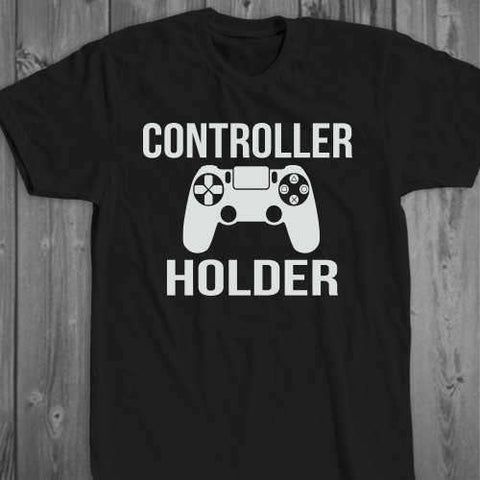 Controller Holder Gamer T-Shirt