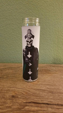 Ghost BC Prayer Candle - Papa Emeritus III Prayer Candle
