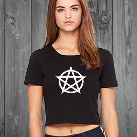 Pentagram Women's Crop Top