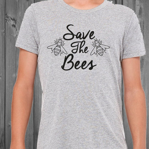 Save The Bees T Shirt- Youth or Toddler Sizes