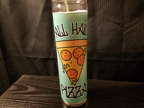 ALL HAIL PIZZA Saint Candle