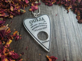 Ouija Planchette Colored Resin Necklace