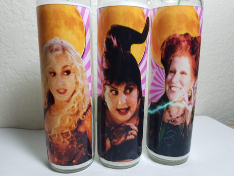 Sanderson Sisters Saint Candles
