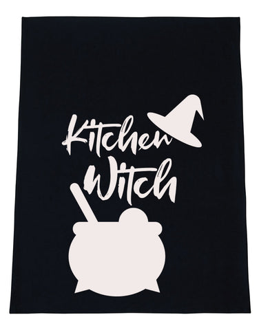 Kitchen Witch Kitchen Tea Towels - Set of 2
