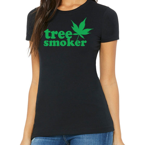 Tree Smoker Women's T-Shirt