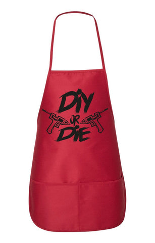 DIY or Die Craft Apron with Pockets