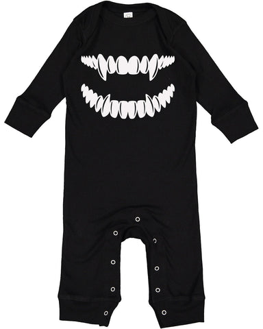 Fangs Long Sleeve Full Body Suit