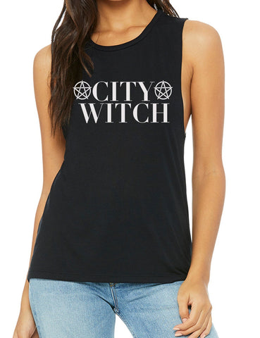 City Witch Muscle Tank