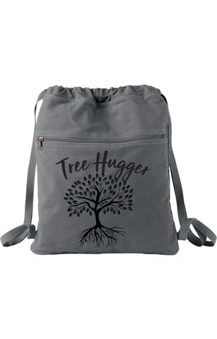 Tree Hugger Cinch Backpack Bag