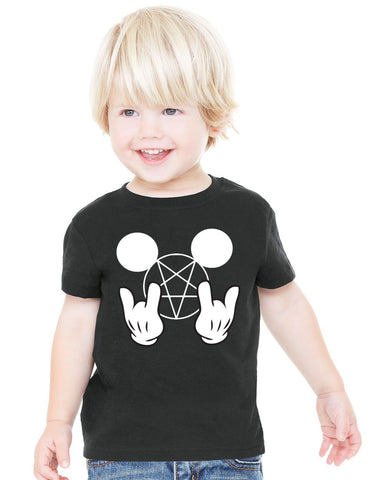 Metal Mickey Kids T-Shirt