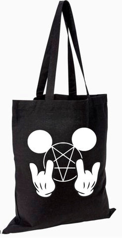 Metal Mickey Mouse Tote Bag