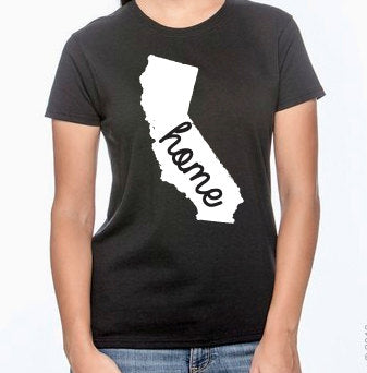 California Home Womens T-Shirt