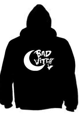Bad Witch Halloween Hoodie Full Zip