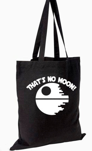 That's No Moon Tote Bag