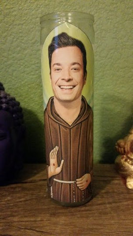 Jimmy Fallon Saint Candle