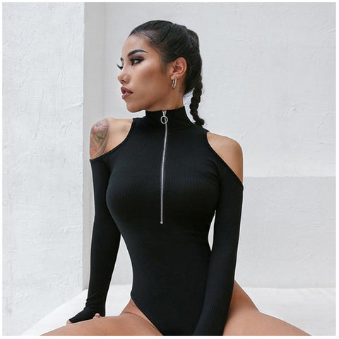 Tito Cold Shoulder Bodysuit