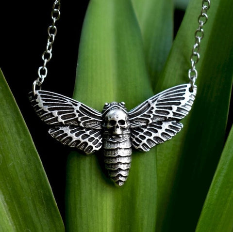 Death Moth Necklace