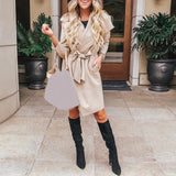 Wrap Trench Jacket