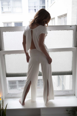 High-Waist Modal Lounge Pants