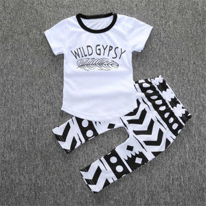 """Wild Gypsy"" Shirt + Pants Set"