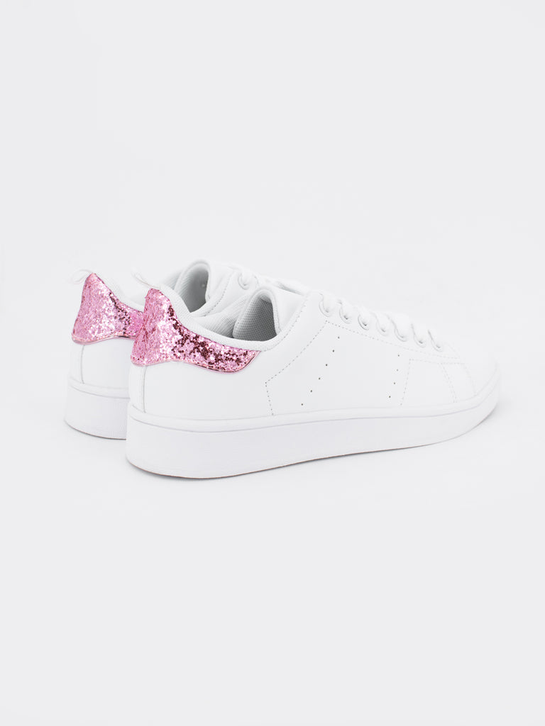Zapatillas Dana Purpurina Rosa