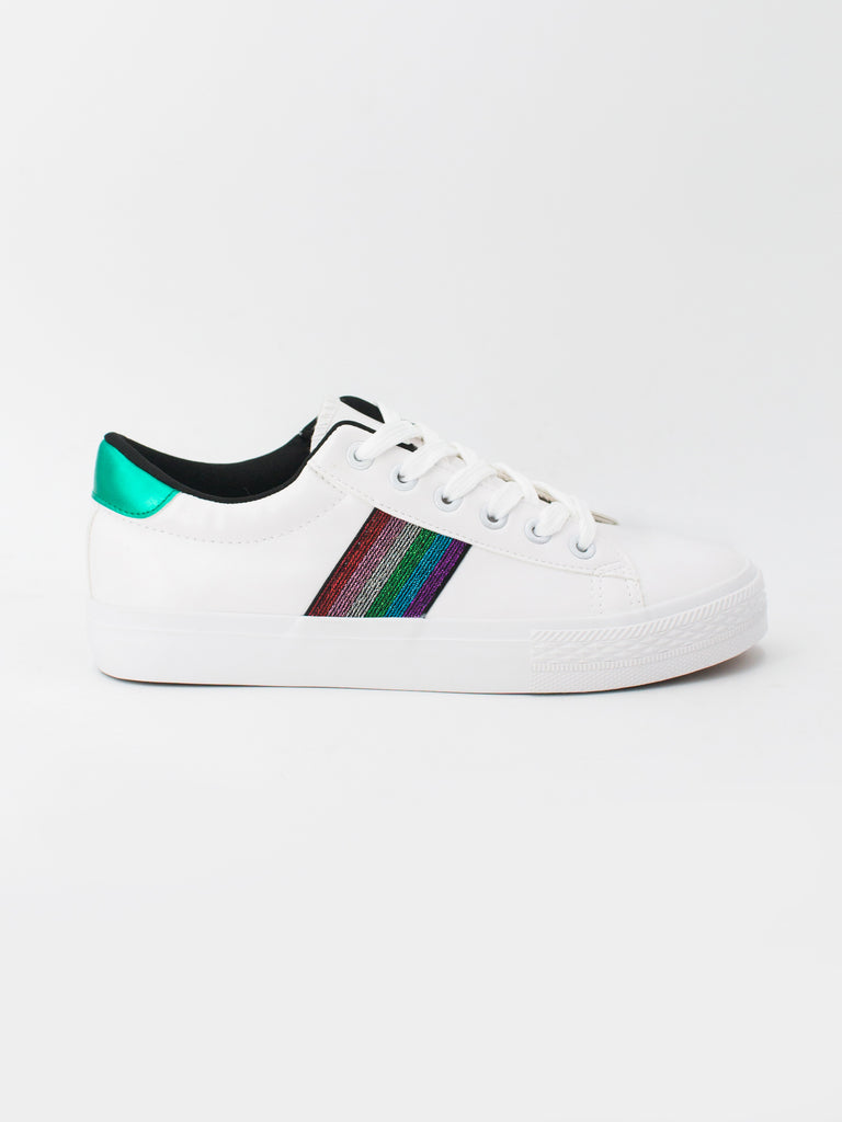 Zapatillas Rainbow Blancas