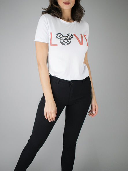 Camiseta Love Mickey
