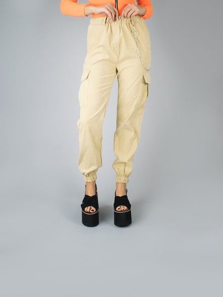 Pantalón Virginia Beige