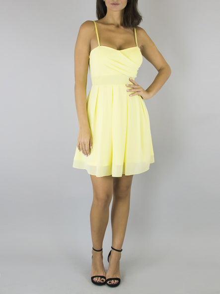 Vestido Margot Amarillo
