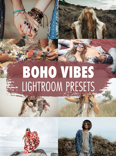 10 Boho Vibes Lightroom Presets - Mobile & Desktop