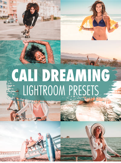 10 California Dreaming Lightroom Presets - Mobile & Desktop
