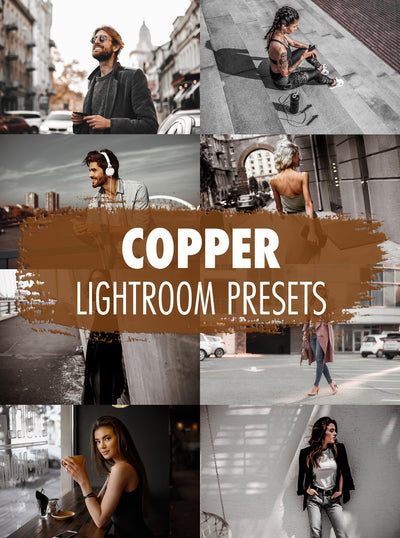 10 Copper Lightroom Presets - Mobile & Desktop