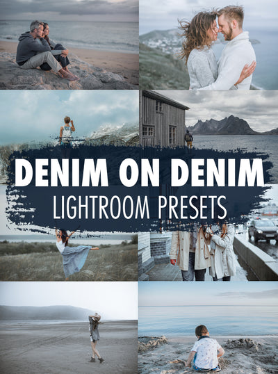 10 Denim On Denim Lightroom Presets - Mobile & Desktop