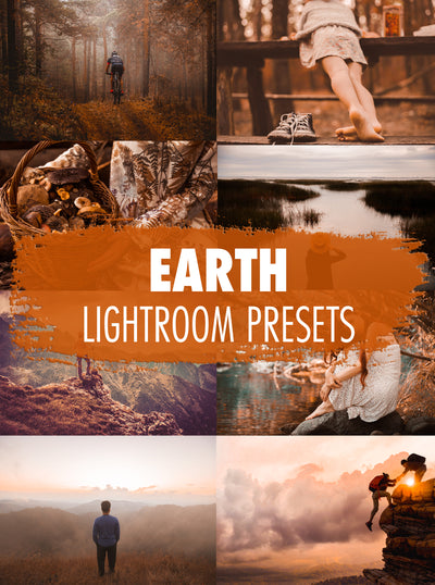 10 Earth Lightroom Presets - Mobile & Desktop